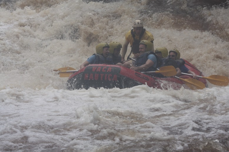 Rafting in Brotas