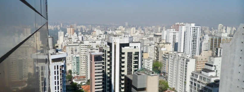 Sao Paulo Skyline from my hotel