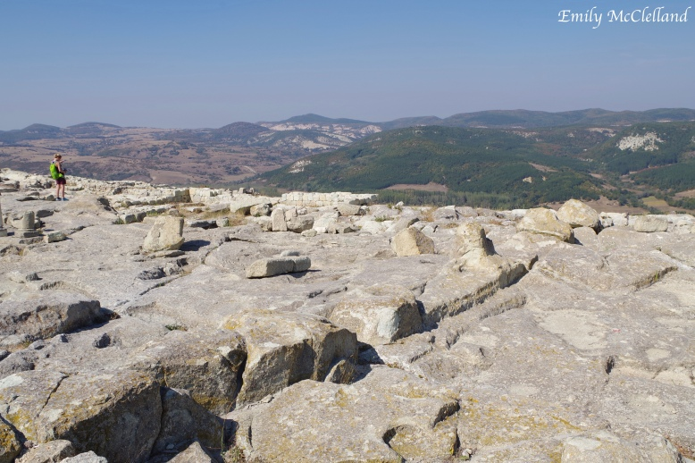 On top of the Ancient Site of Perperikon