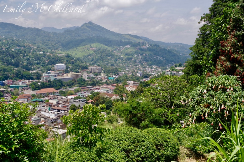 Kandy hilltop Views