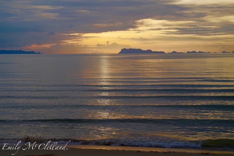 Ocean view in Koh Samui